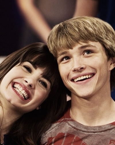 Demi Lovato and Sterling Knight :)