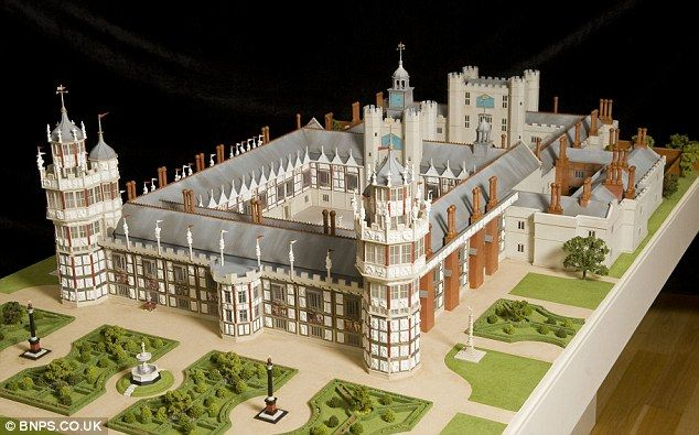 Majestic: Nonsuch can be seen in all its glory for the first time in more than 300 years after a model maker recreated it thanks to an Oxford University professor's research