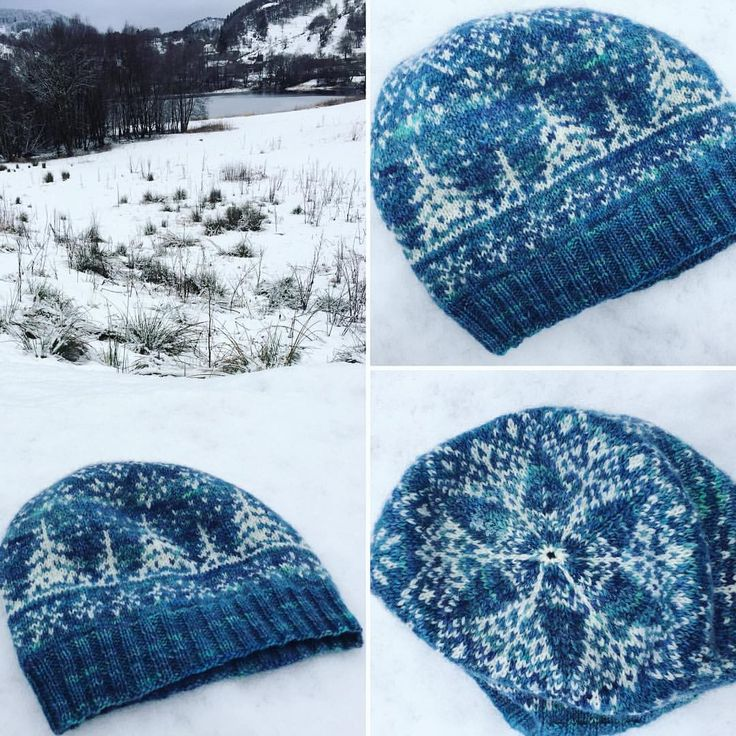"""225 Likes, 18 Comments - Gilly (@fjordfibres) on Instagram: """"This beautiful #lilletind colourwork hat pattern by the talented Emilie of @arcticknitting was…"""""""