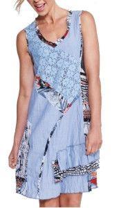 Threadz Dress - Blue  (15498)