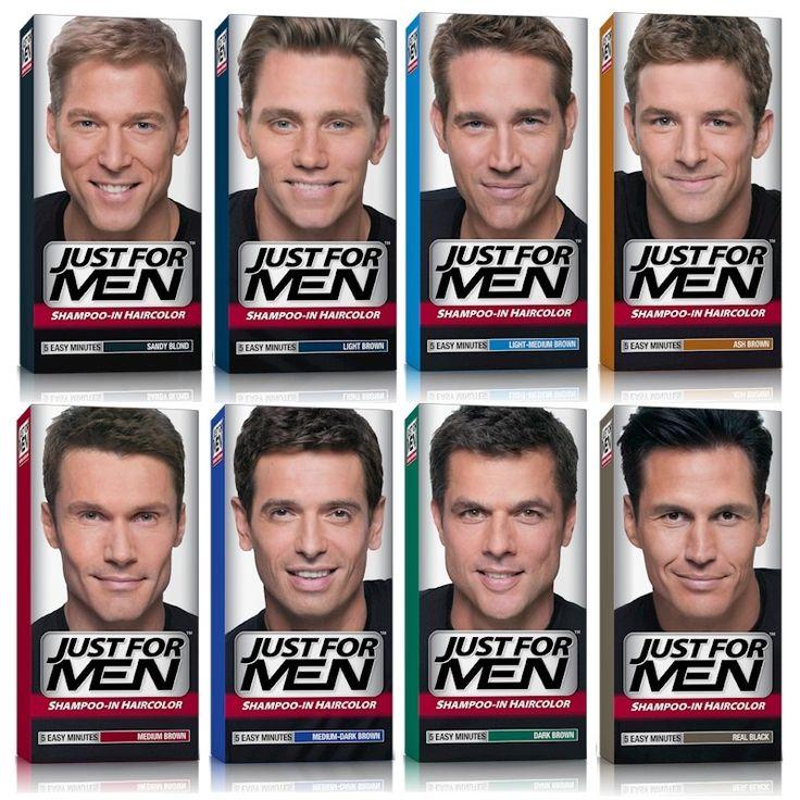 Just for men hårfärg. Hårfärg för män som färgar grått hår på 5 min.
