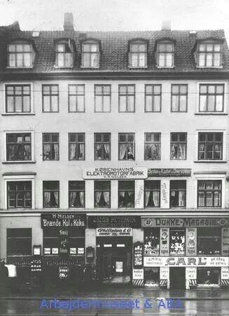 Vesterbrogade 27 i 1911