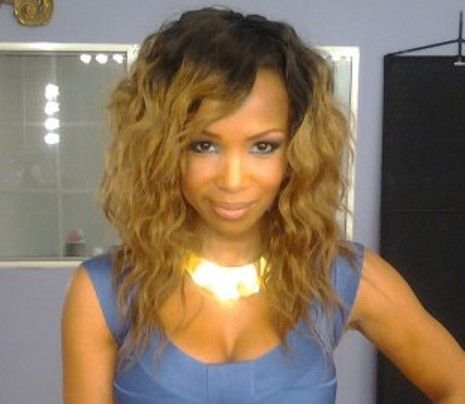 ombre hair for black women | Elise Neal Launches New Weave Line: Other Celebrity Lines - Rolling ...