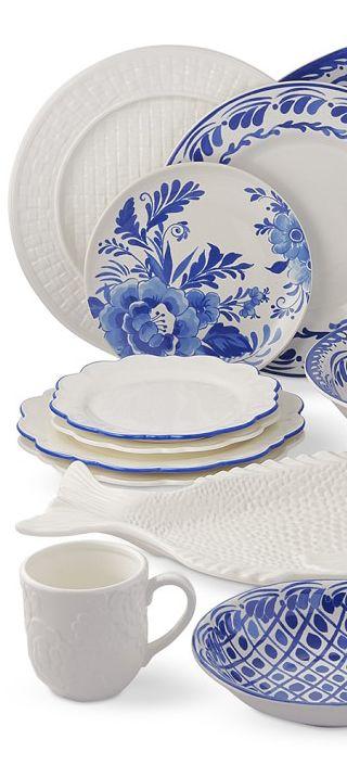 Aerin Dinnerware Collection | Coastal Decor