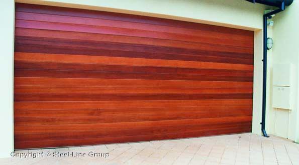 Garage timber door | Steel-Line