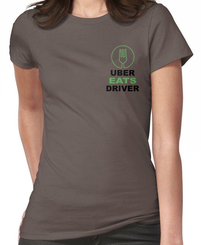 'Uber Eats' TShirt by smoke1 Shirts, T shirts for women