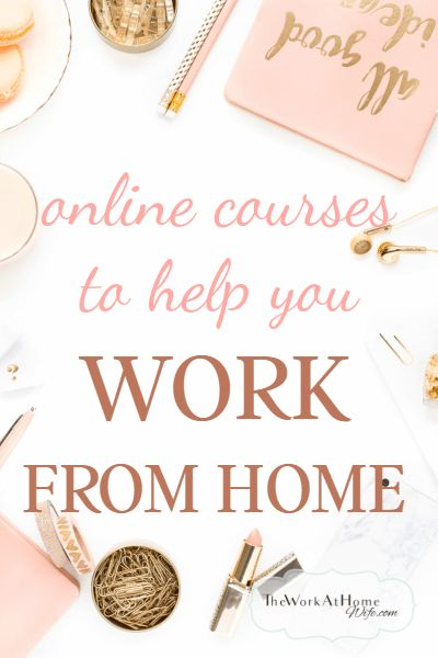 Is a lack of a specific skill holding you back? If you are looking to bust through your work at home barriers, here are several sites offering online courses relating to home and online business needs.
