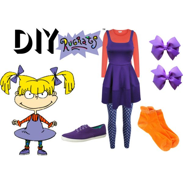 """""""DIY Angelica Pickles Costume"""" by reneeward400 on Polyvore"""