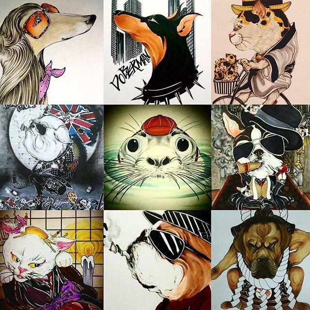 🇯🇵⭐️愛犬 愛猫 似顔絵⭐️ #toshi#toshiart#toshi_jintai#jintai #日本#動物#愛犬#愛猫#犬#猫#似顔絵#イラスト#illust#インテリア#interior#アート#art#world#japan#animal#dog#cat#family#sketch#nature#earth