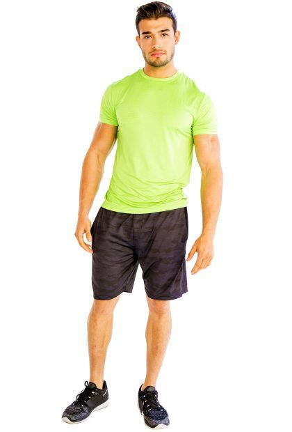 #Neon #Green #Half #Sleeve #T-Shirt @alanic.com