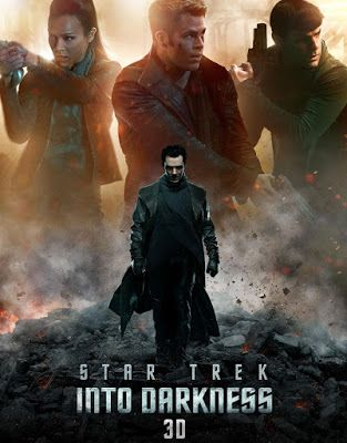 Poster Of Star Trek Into Darkness (2013) In Hindi English Dual Audio 300MB Compressed Small Size Pc Movie Free Download Only At freehdmovies716.blogspot.com