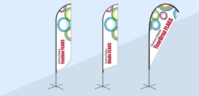 Bannerbuzz offer are made of durable and high quality Custom Flag.Flags are a great way to spread the word without taking up too much space. They are also travel-friendly for trade shows and outdoor events.