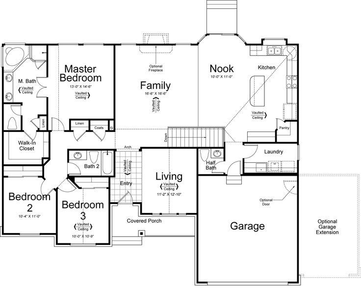 2661055d1edc0a97816efeeeee0c6d24 Vernet Footage Ivory Homes Floor Plan on