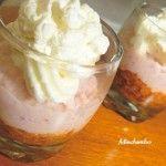 Photo de la recette : Mousse de jambon, pesto de tomates confites, chantilly au Parmesan