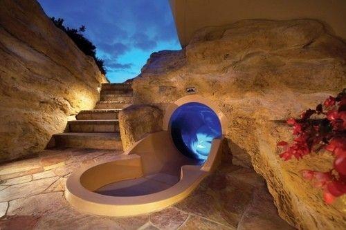 very cool water slide!