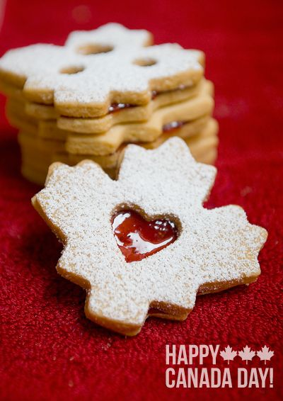I Heart Canada: Almond Shortbread Sandwiches