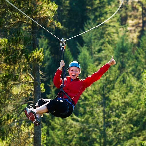 Seriously, what could be more fun than zip lining through the trees on Vancouver Island?  #YouWontBeSorry www.youwontbesorry.com #Sooke