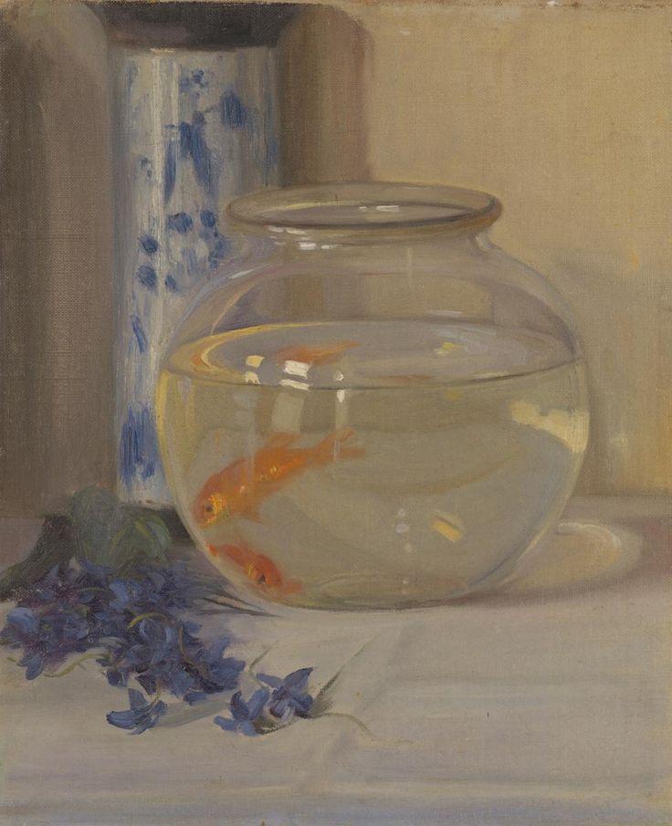 El plato de pescado -  Margaret Preston