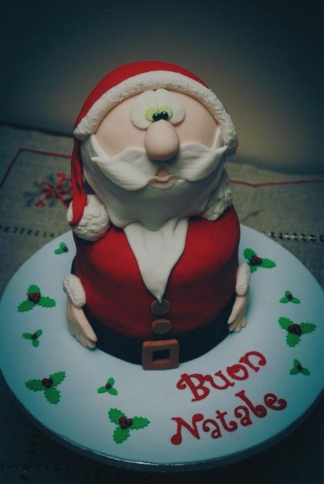 christmas panettone - by NataliaPicci @ CakesDecor.com - cake decorating website