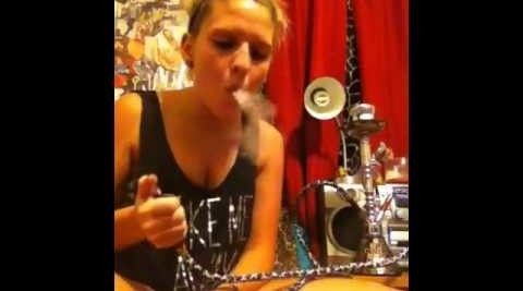 Watch these hookah smoke tricks #StonedTube