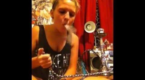 Watch these hookah smoke tricks #StonedTube