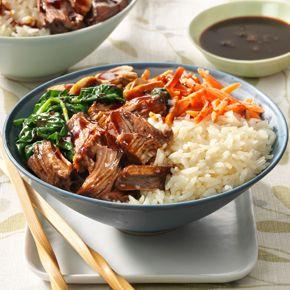 UNCLE BEN'S® Easy Rice Recipes | Korean Barbecue Rice Bowl