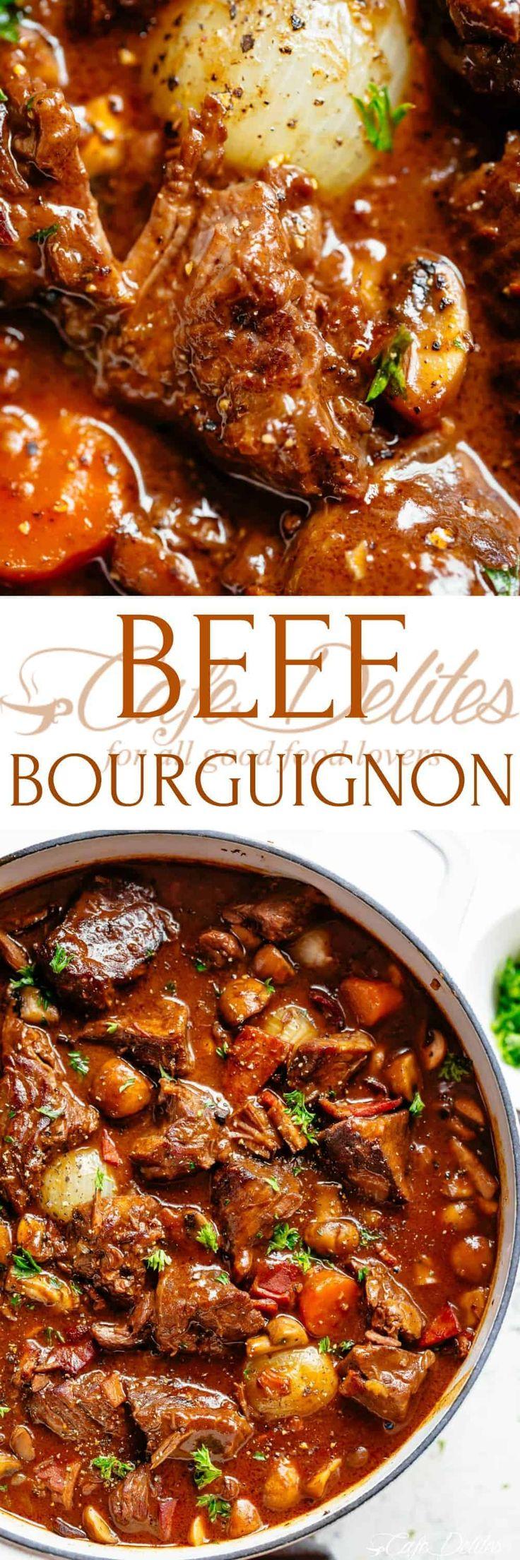 Julia Child's Beef Bourguignon | Recette
