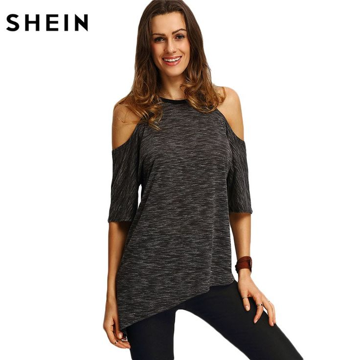 Summer Woman Fashion Tops Casual Half Sleeve Cold Shoulder Black Crew Neck Asymmetric Hem T-shirt    41.55, 25.99  Tag a friend who would love this!     FREE Shipping Worldwide     Get it here ---> https://liveinstyleshop.com/shein-summer-woman-fashion-tops-ladies-tee-shirts-casual-half-sleeve-cold-shoulder-black-crew-neck-asymmetric-hem-t-shirt/    #shoppingonline #trends #style #instaseller #shop #freeshipping #happyshopping