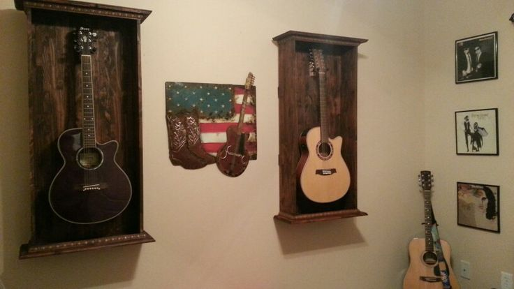 Guitar stand music wall decor  Music  Office  Room