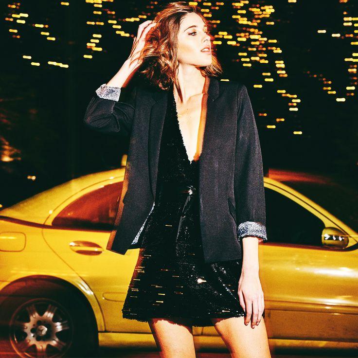 The ultimate fashionable look! #girl #pinkwoman #fashion #ootd #nightout #fun