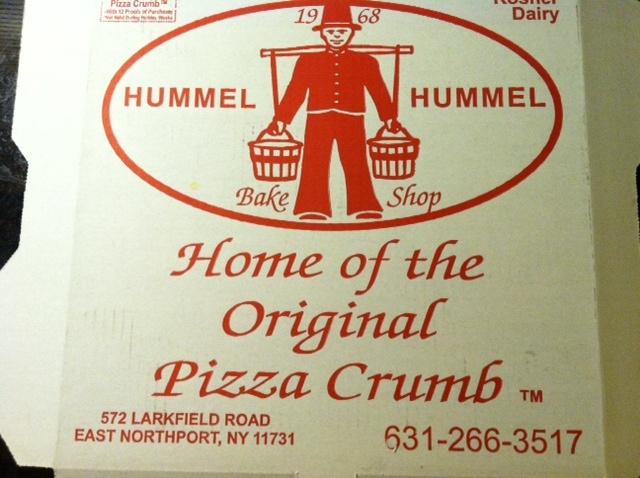 Hummel Pizza Crumb Cake Recipe