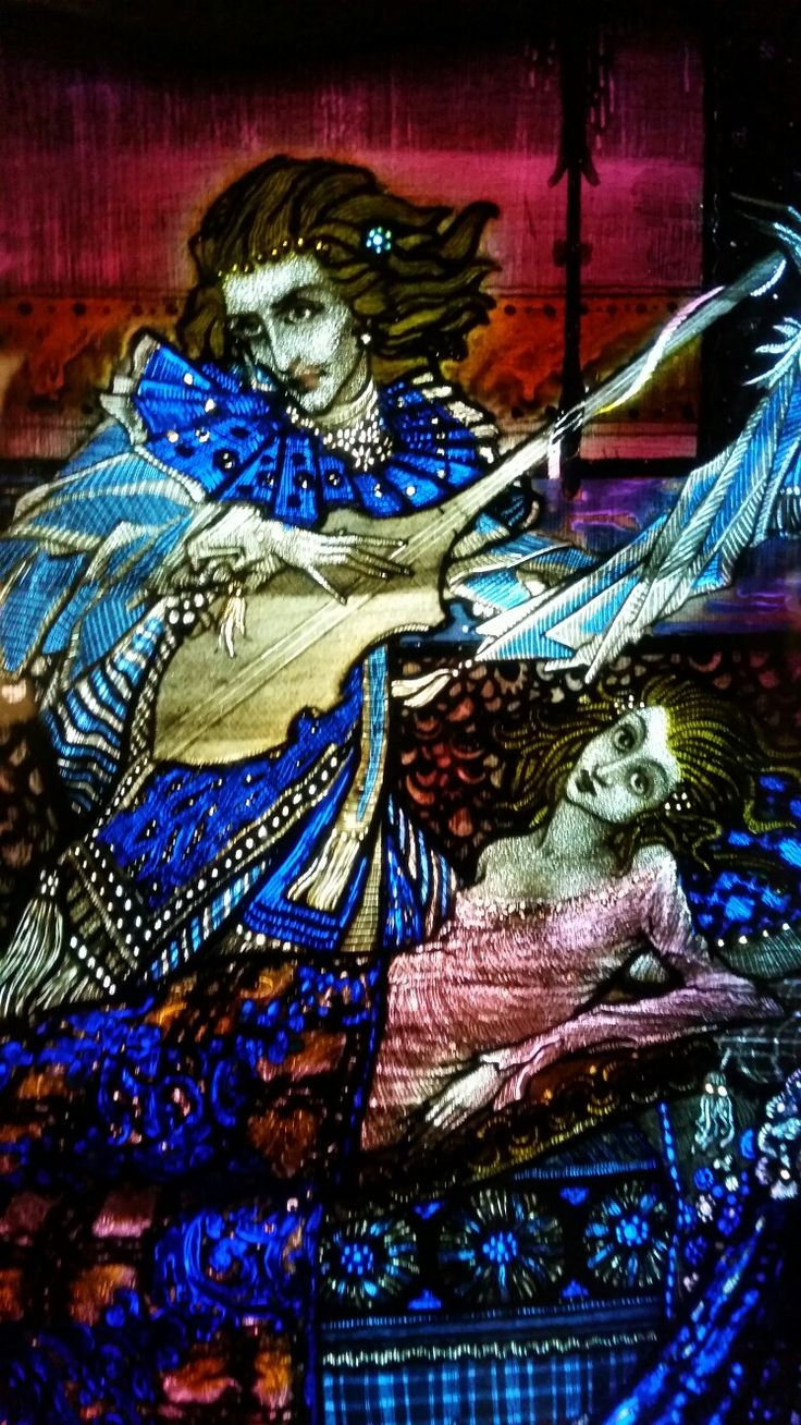 The Eve of St Agnes by Harry Clarke - Ooooooh sole mio.