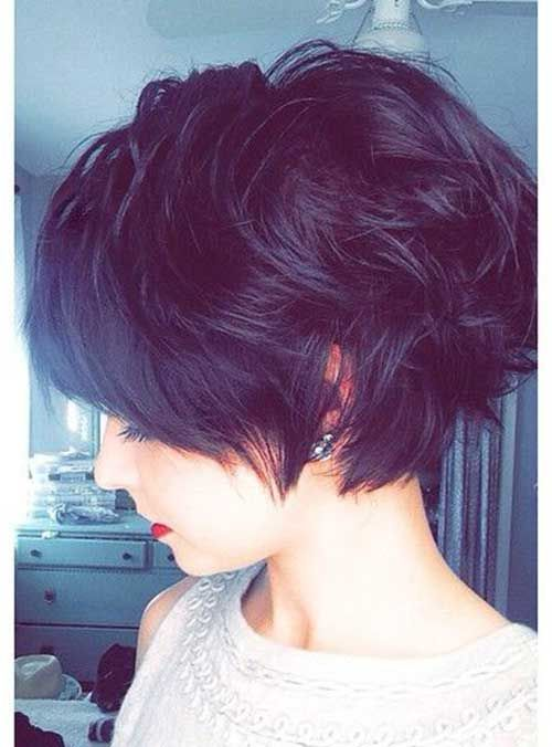 20 Short Dark Hair Pics | http://www.short-haircut.com/20-short-dark-hair-pics.html