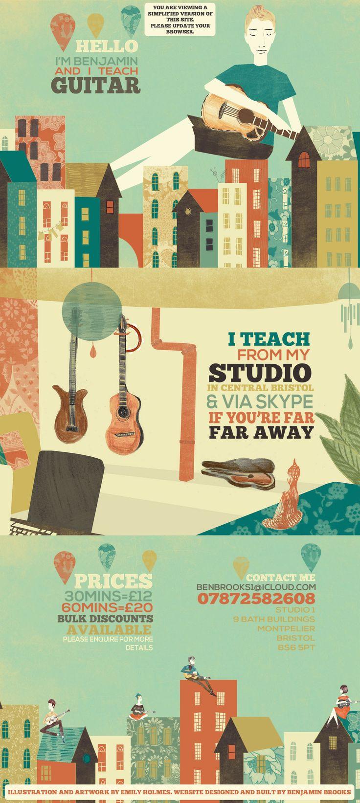 bristol guitar lessons emily holmes illustration benjamin brooks acoustic upgrade browser