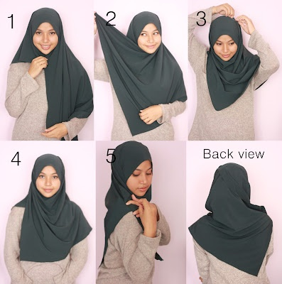 how to wear hijab ...