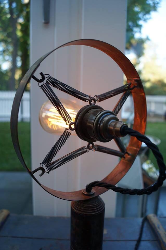 Microphone lamp, rear