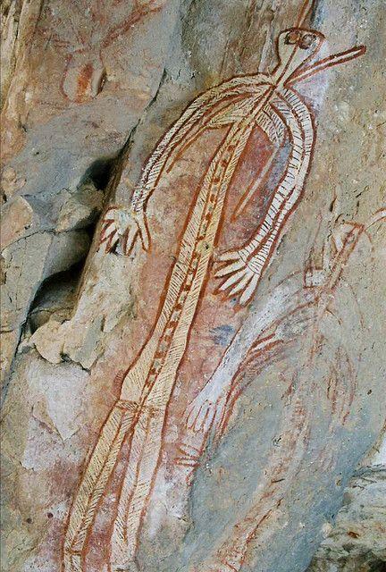 Rock art, Kakadu National Park, Northern Territory  Australia