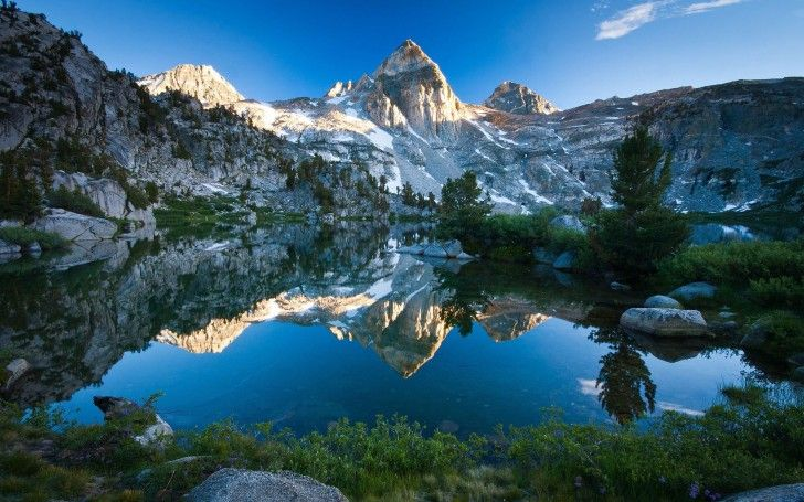Góry , Jezioro , Krajobrazy
