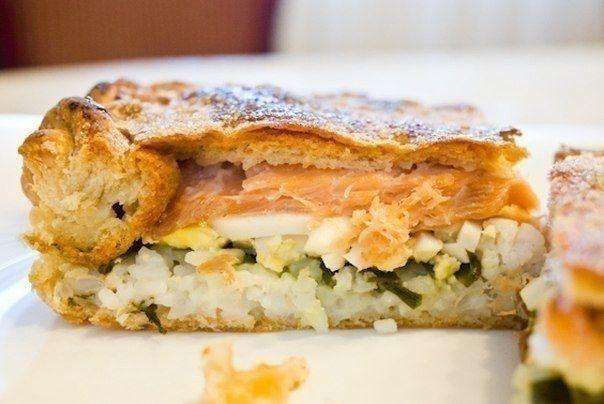 Пирог рыбный рецепты с фото