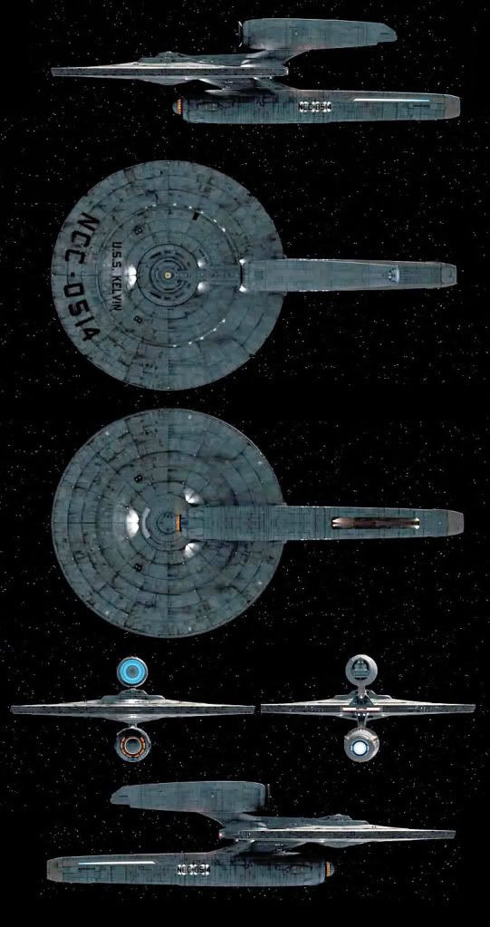 uss kelvin ncc 0514 ships of star trek pinterest. Black Bedroom Furniture Sets. Home Design Ideas
