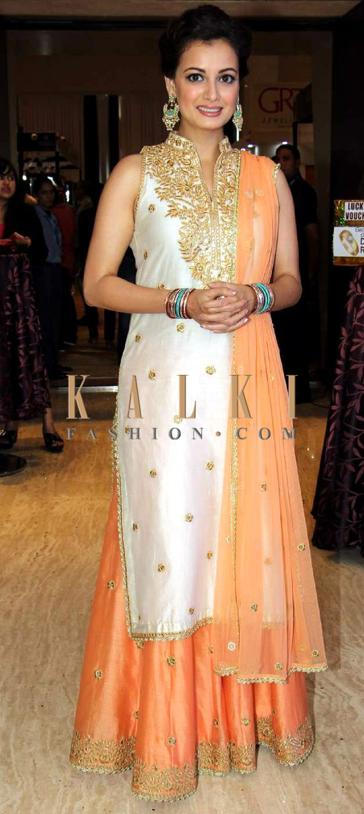Match your favorite B-town celeb. Find a celeb style match on - http://www.kalkifashion.com/salwar-kameez/anarkali-salwar-kameez.html