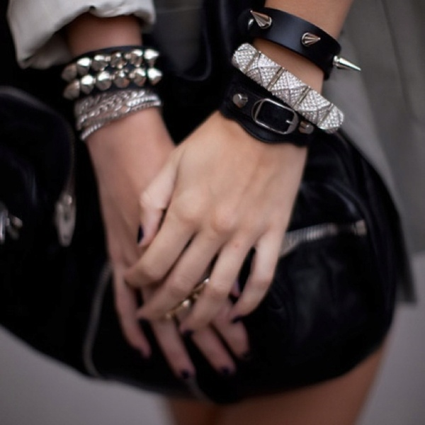 streetstyle...: Studs, Arm Candy, Fashion, Style, Bracelets, Jewelry, Accessories