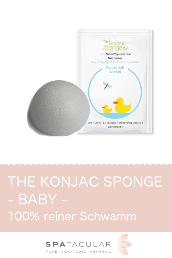 Der Konjac Baby Sponge aus 100% hochqualitativem lebensmitteltauglichen weißen Konjac. Keine Chemikalien oder Toxine, für eine zarte, durchlässige Baby- und Kinderhaut. Reinigt sanft, ohne die Haut zu schädigen. Dieser Schwamm ist das perfekte Reinigungszubehör und nicht nur für jedes Neugeborene und Kind geeignet, sondern für jeden mit empfindlicher Haut oder Haut, die zu allergischen Reaktionen neigt. Perfekt für Kinder mit empfindlicher Haut oder Ekzem