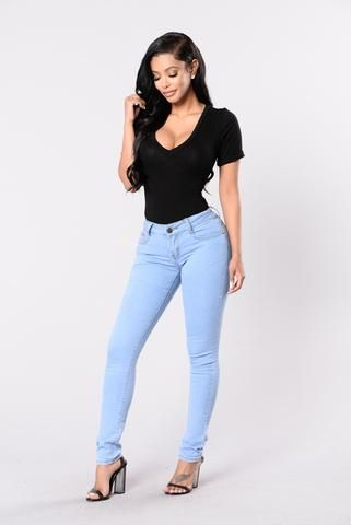 Keep It real con usted Jeans - Azul Claro