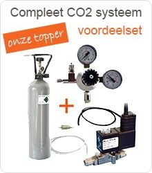 Compleet CO2 systeem