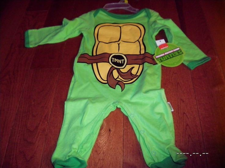 NEW Infant Baby Boys Teenage Mutant Ninja Turtles Onesie Sleeper 0-3 Months NWT in Clothing, Shoes & Accessories, Baby & Toddler Clothing, Boys' Clothing (Newborn-5T) | eBay