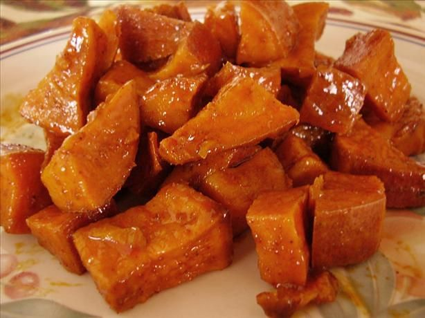 "Sweet and Spicy Sweet Potato Bake: Previous pinner said, ""I followed the"