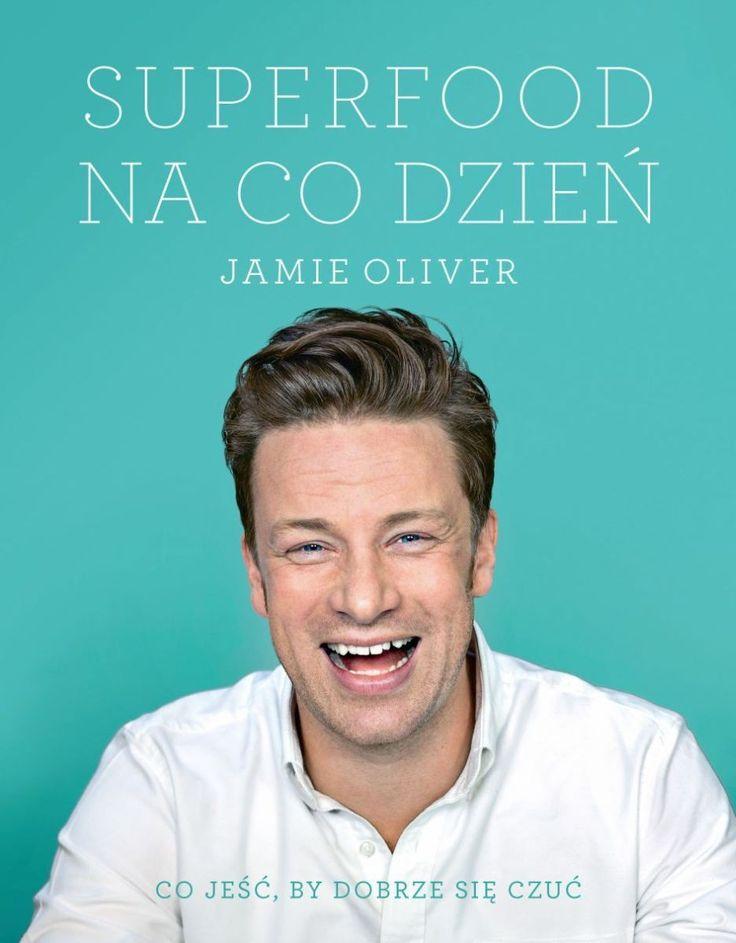 Super książka kucharska od super Jamiego, pełna inspirujących przepisów, aż chce się jeść!