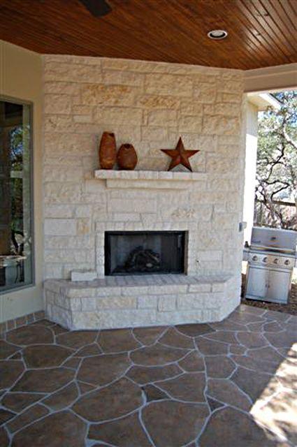 Stamped Concrete Fireplaces : Best flex c ment decorative concrete overlay systems