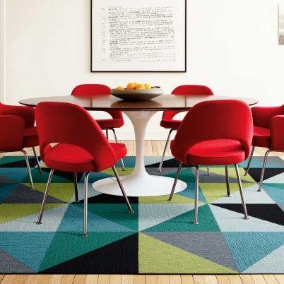 Great design using FLOR carpet tiles